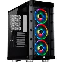 Gabinete Gamer Corsair iCUE 465X, Mid Tower, RGB, com FAN, Lateral e Frontal em Vidro - CC-9011188-WW