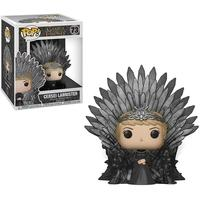 Funko POP! Cersei Lannister Sitting On Iron Throne, Game Of Thrones S10 Deluxe - 37796