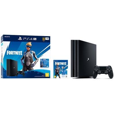 Console Sony PlayStation 4 Pro Neo Versa Fortnite, 1TB, Preto - CUH-7214B