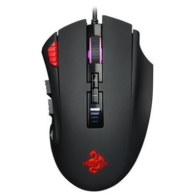 Mouse Gamer Hoopson GT-900 Brave, RGB, 12 Botões, 12000DPI - GT-900