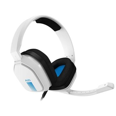 Headset ASTRO Gaming A10 para PlayStation, Nintendo Switch, PC e Xbox - Branco/Azul - 939-001853