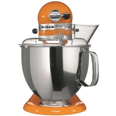 Batedeira Planetária KitchenAid Stand Mixer Artisan, 4.8L, 10 Velocidades, Tangerine, 110V - KEA33C8ANA
