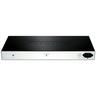 Switch Smart D-Link DES-1210-28P, 24 Portas PoE 10/100Mbps e 4 Portas Gigabit 10/100/1000Mbps - DES-1210-28P
