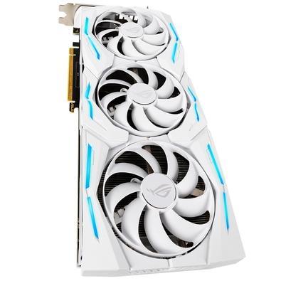 Placa de Vídeo Asus ROG Strix NVIDIA GeForce RTX 2080 TI White Edition, 11GB, GDDR6 - ROG-STRIX-RTX2080TI-O11G-WHITE-GAMING
