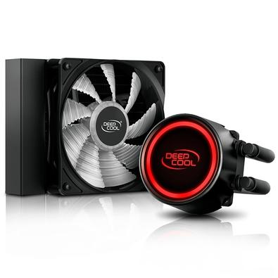 Water Cooler Deepcool Gammaxx L120T, 120mm, LED Vermelho -  DP-H12RF-GL120TR