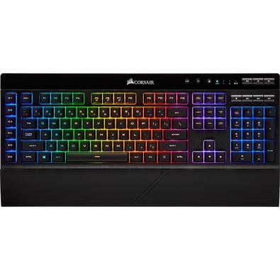 Teclado Gamer Corsair K57, Wireless, RBG, US - CH-925C015-NA