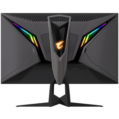 Monitor Gamer Gigabyte Aorus LED, 27´, QHD, IPS, HDMI, Display Port, 165Hz, 1ms, Altura Ajustável - FI27Q-SA