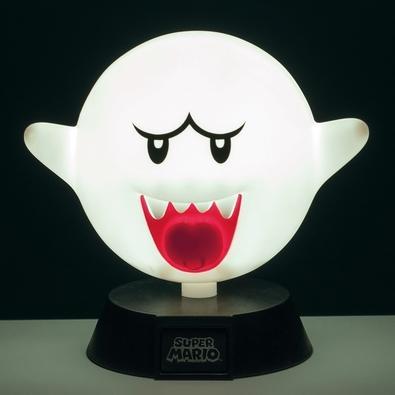 Luminária Super Mario, Boo 3D Light - 29519
