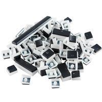 Keycaps Glorious, 104 Teclas, ANSI-US - G-104-AURA