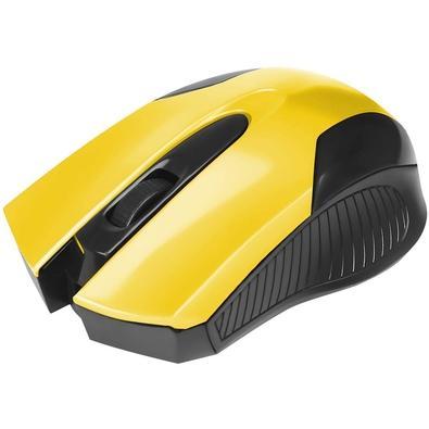 Mouse Bright USB, Amarelo - 0378
