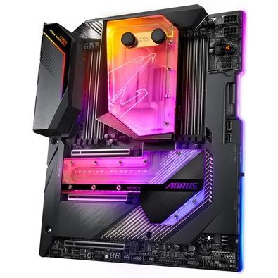 Placa-Mãe Gigabyte X299X Aorus Xtreme Waterforce p/ Intel LGA 2066, XL-ATX, DDR4
