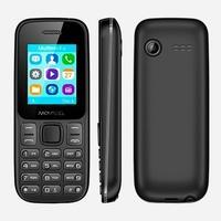 Celular Movacel A17, Câmera Traseira VGA, Lanterna, Bluetooth, Rádio FM, Dual Chip, Preto