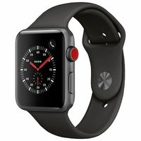 Apple Watch Series 3, GPS, 38mm, Cinza Espacial, Pulseira Preta - MTGP2BZ/A