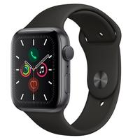 Apple Watch Series 5, GPS, 40mm, Cinza Espacial, Pulseira Preta - MWX32BZ/A