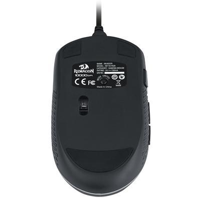 Mouse Gamer Redragon Invader M719, RGB, 7 Botões, 10000DPI - RGB M719-RGB
