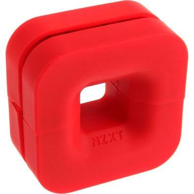 Suporte Headset NZXT Puck, Vermelho - BA-PCKRT-RD