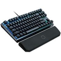 Teclado Mecânico Gamer Cooler Master MK730, RGB, Switch Cherry MX Blue, US - MK-730-GKCL1-US
