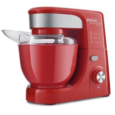 Batedeira Planetária Philco PHP500 Turbo Double Bowl, 11 Velocidades, 500W, 220V, Vermelha - 103402103