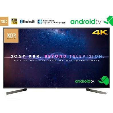 Smart TV LED Sony 85´ 4K Sony, 4 HDMI, 3 USB, Bluetooth, Wi-Fi, HDR, com Android, X-tended Dynamic, X-Motion - XBR-85X905F