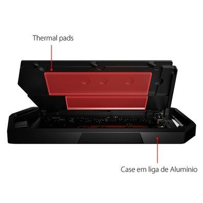 Case para SSD Asus Rog Strix Arion M.2 - ESD-S1C