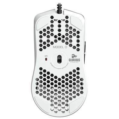 Mouse Gamer Glorious Model O- Minus, RGB, 6 Botões, 12000DPI, Branco Fosco - GOM-WHITE