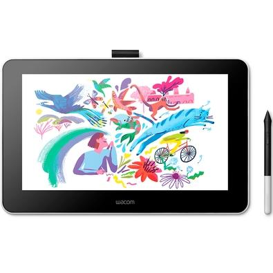 Mesa Digitalizadora Wacom One Creative Pen Display, 13´, 2540 LPI, HDMI, USB - DTC133W