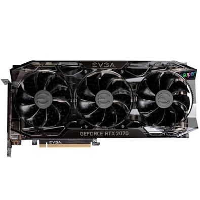 Placa de Vídeo EVGA NVIDIA GeForce RTX 2070 Super FTW3 Ultra+ Overclocked, 8GB, GDDR6 - 08G-P4-3377-KR