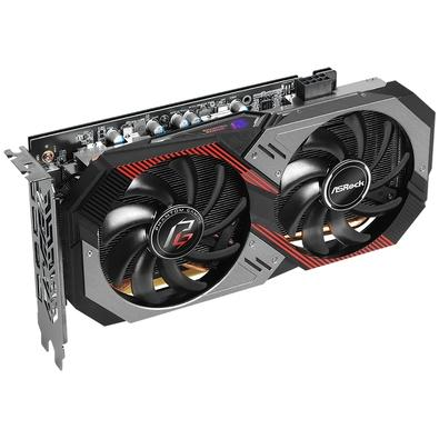 Placa de Vídeo ASRock AMD Radeon RX 5600 XT Phantom Gaming D2 OC, 6GB, DDR6 - 90-GA1WZZ-00UANF