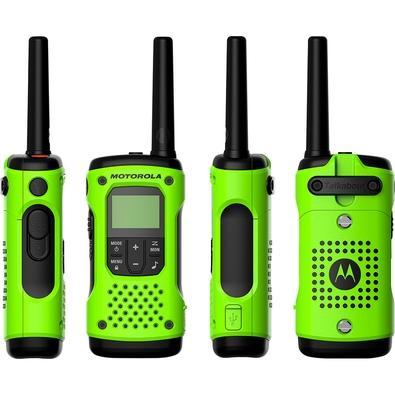 Rádio Comunicador Motorola Talkabout T600BR, Alcance até 35KM,  À Prova d´Água - 68559