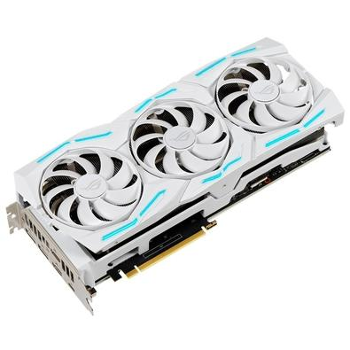 Placa de Vídeo Asus Rog Strix NVIDIA GeForce RTX 2080 Super White Edition, 8GB, GDDR6 - ROG-STRIX-RTX2080S-O8G-WHITE-GAMING