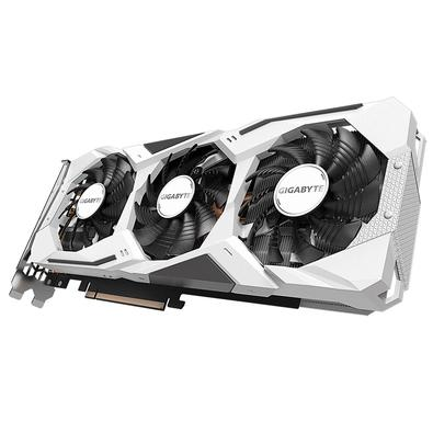 Placa de Vídeo Gigabyte NVIDIA GeForce RTX 2060 Super Gaming OC 3x White, 8GB, GDDR6, REV 2.0 - GV-N206SGAMINGOC WHITE-8GD REV2.0