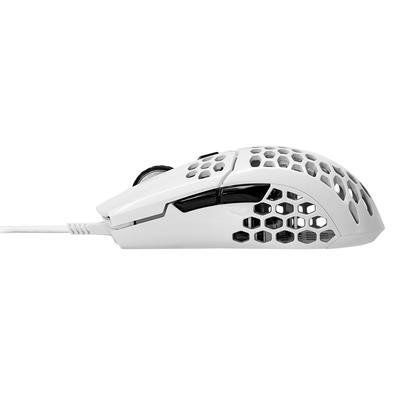 Mouse Gamer Cooler Master MM710, 6 Botões, 16000DPI, Branco Matte - MM-710-WWOL1