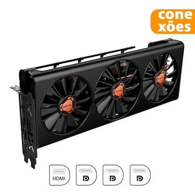 Placa de Vídeo XFX AMD Radeon RX 5600 XT THICC III Ultra, 6GB, GDDR6 - RX-56XT6TBD8