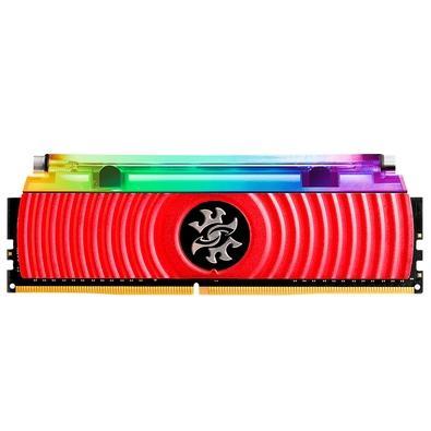 Memória XPG Spectrix D80, RGB, 16GB (2x8GB), 3200MHz, DDR4, CL16, Vermelho - AX4U320038G16A-DR80