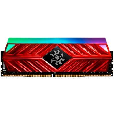 Memória XPG Spectrix D41, RGB, 8GB, 3600MHz, DDR4, CL17, Vermelho - AX4U360038G17-SR41