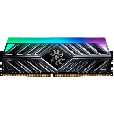 Memória XPG Spectrix D41, RGB, 8GB, 2666MHz, DDR4, CL16, Cinza - AX4U266638G16-ST41