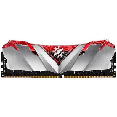 Memória XPG Gammix D30, 8GB, 3000MHz, DDR4, CL16, Vermelho - AX4U300038G16A-SR30