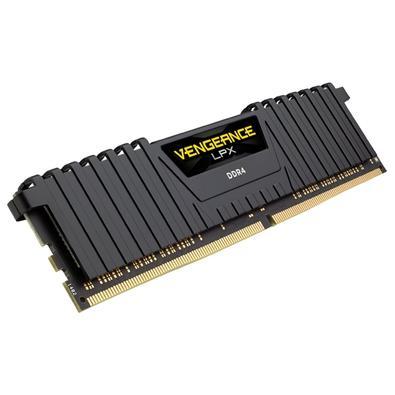 Memória Corsair Vengeance LPX 128GB (4x32GB) 2400Mhz DDR4 C16 Black - CMK128GX4M4A2400C16