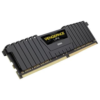 Memória Corsair Vengeance LPX 64GB (8x8GB) 4133Mhz DDR4 C19 Black - CMK64GX4M8X4133C19