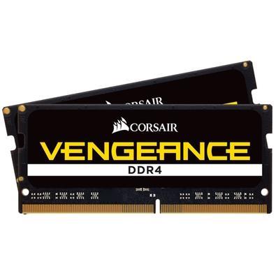 Memória Corsair Vengeance Para Notebook 16GB (2x8GB) 3000Mhz DDR4 C16 - CMSX16GX4M2A3000C16