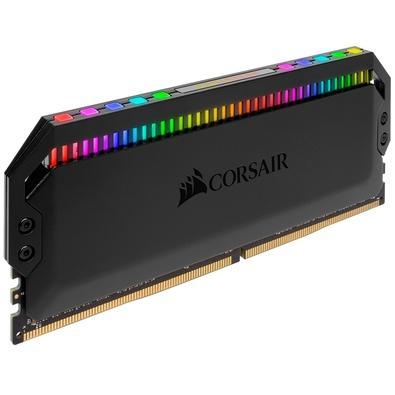 Memória Corsair Dominator RGB 64GB (4x16GB) 3600MHz  DDR4  C18 Black - CMT64GX4M4K3600C18