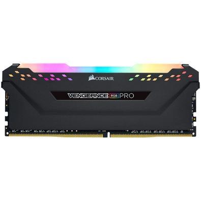 Memória Corsair Vengeance RGB Pro 64GB (8x8GB) 3000MHz DDR4 C15 Black - CMW64GX4M8C3000C15