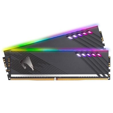 Memória Aorus RGB, 16GB (2x8GB), 3600MHz, DDR4, CL18 (com módulo de demonstração) - GP-AR36C18S8K2HU416RD