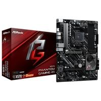 Placa-Mãe ASRock X570 Phantom Gaming 4S, AMD AM4, ATX, DDR4