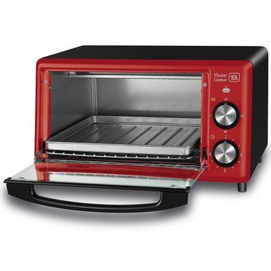 Forno Elétrico Mondial Master Cooker, 10 Litros, 110V, Vermelho - FR-20
