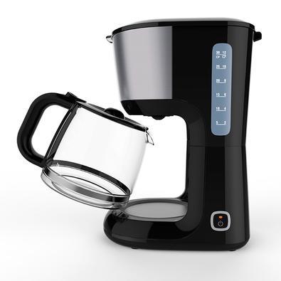 Cafeteira Elétrica Electrolux Love Your Day, 30 Xícaras, 110V, Preto/Inox - 900920846