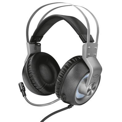 Headset Gamer Trust GXT 4376 Ruptor, LED, 7.1 Som Surround, Drivers 50mm - 22809
