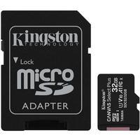 Cartão de Memória Kingston Canvas Select Plus MicroSD 32GB Classe 10 com Adaptador, para Câmeras Automáticas/Dispositivos Android - SDCS2/32GB