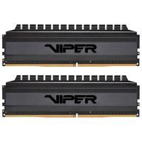 Memória Patriot Viper 4 Blackout 16GB (2x8GB), 3000MHz, DDR4, CL16 - PVB416G300C6K