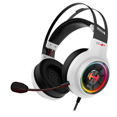 Headset Gamer Edifier G4TE Hecate, RGB, 7.1 Virtual Som Surround, Drivers 50mm, Branco - G4TE